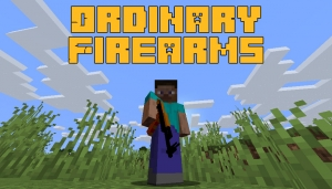 Ordinary Firearms - обычное оружие [1.16.5] [1.15.2]