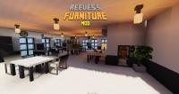Reeves's Furniture Mod - мод на фурнитуру, мебель, украшения [1.15.2] [1.14.4] [1.12.2]