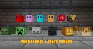Skinned Lanterns - светильники в виде мобов [1.16.5]