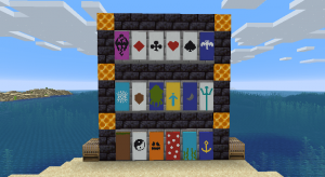 Additional Banners - новые баннеры [1.16.5] [1.12.2] [1.11.2] [1.10.2]