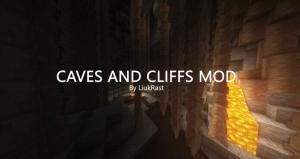 Caves and Cliffs mod - мод на обновление пещер из 1.17 [1.16.5] [1.15.2]