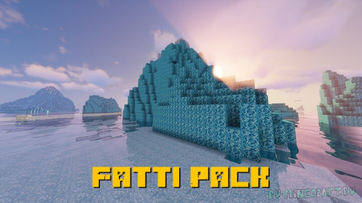 Fatti Pack - немного реализма [1.16.4] [1.15.2] [32x]