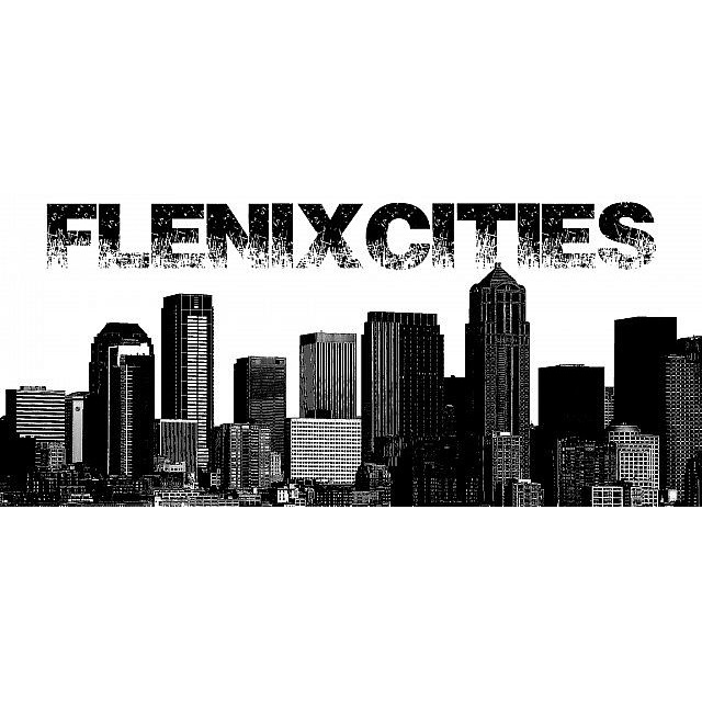 FlenixCities + streets + food module + - много новых вещей [1.12.2] [1.7.10] [1.6.4]