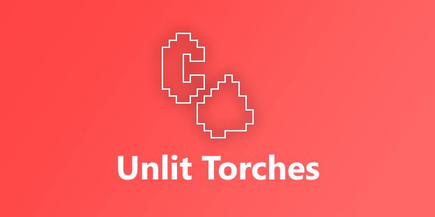 Unlit Torches - факела гаснут, реализм [1.16.5] [1.15.2]