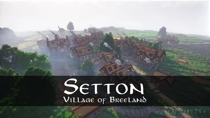 Setton: Village of Breeland - красивая средневековая деревня [1.16.4]