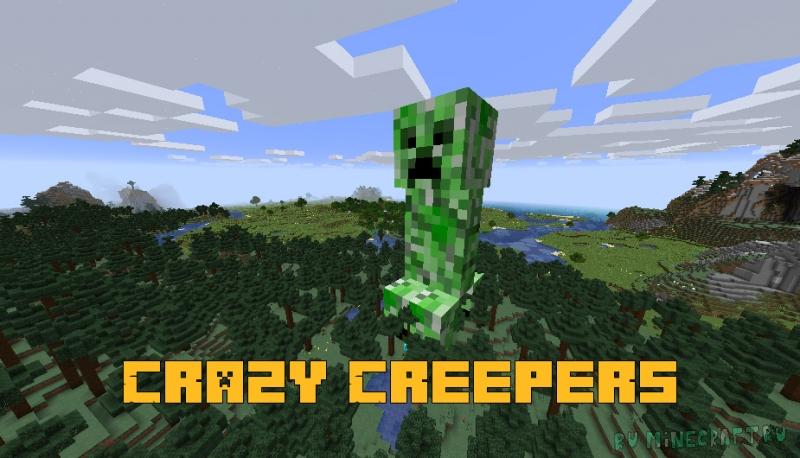 Crazy Creepers - новые виды криперов [1.16.4]