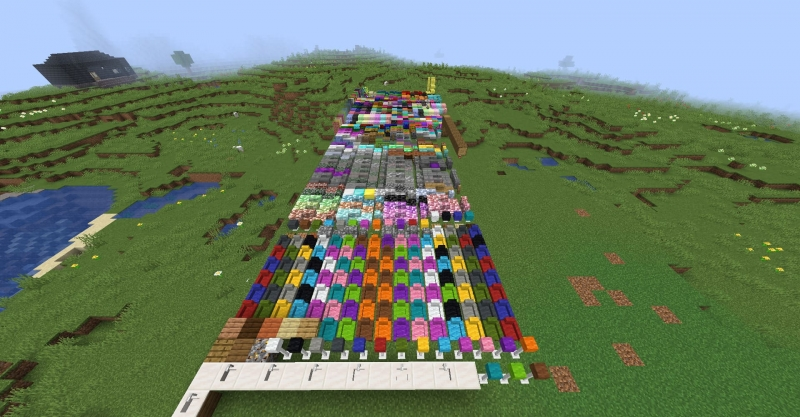 Bricks N' Blocks - кирпичи и блоки [1.16.5] [1.15.2]