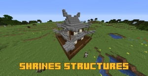 Shrines Structures - дополнительные структуры [1.16.5]