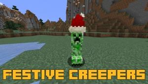Festive Creepers - новогодний крипер [1.16.5]