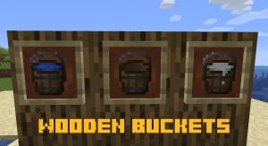 Wooden Buckets - деревянное ведро [1.16.5]
