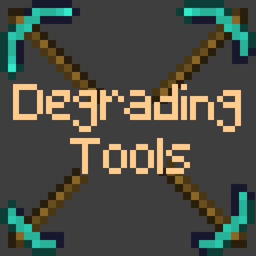 Degrading Tools - текстуры изношенных инструментов [1.16.5] [1.12.2] [16x]