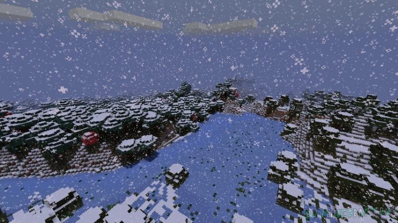 Snowy - новогоднее настроение в майнкрафте [1.17.1] [1.16.5]