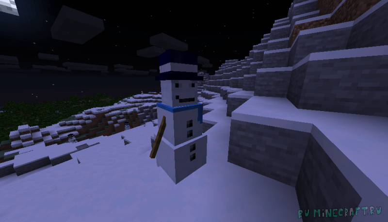 Cold Snap Horde - злая орда снеговиков [1.16.5]