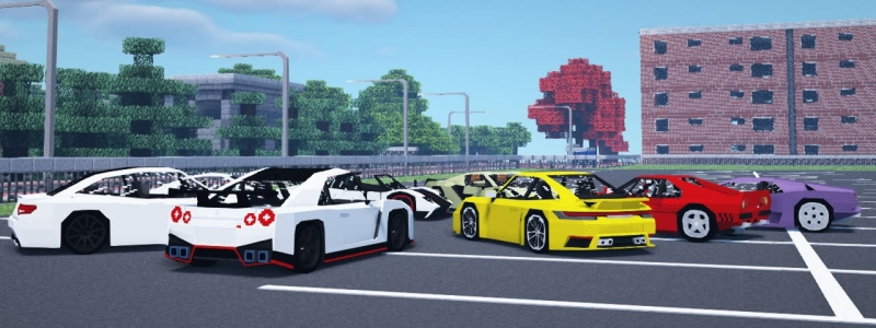 immersive Poker's Garage - суперкары, спортивные машины [1.12.2]
