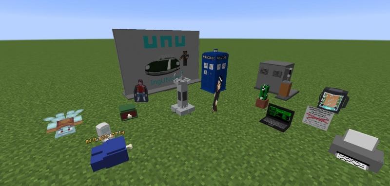 Immersive Vehicles Vanity - пак разного декора и кастомизации [1.12.2]