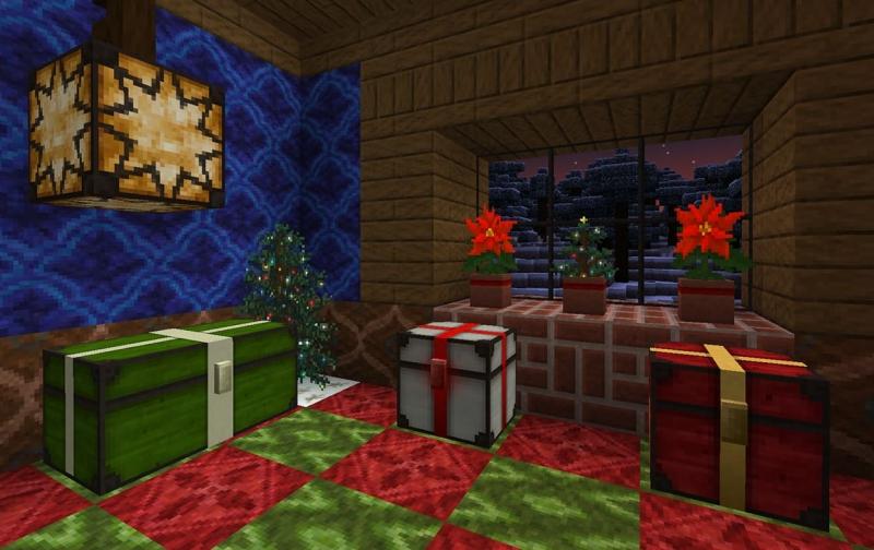Lithos: Christmas Add-on - новогодний ресурспак [1.16.4] [1.15.2] [1.14.4] [1.12.2] [1.8.9] [32]