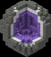 структура аметистовой жеоды