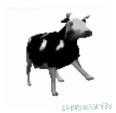 Polish Cow Mod - корова из польского мема [1.16.5] [1.15.2]