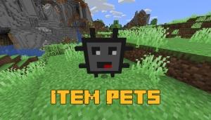 Item Pets - вещи-мобы [1.16.5]