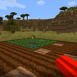Potato Gun - пушка для семян [1.16.5]