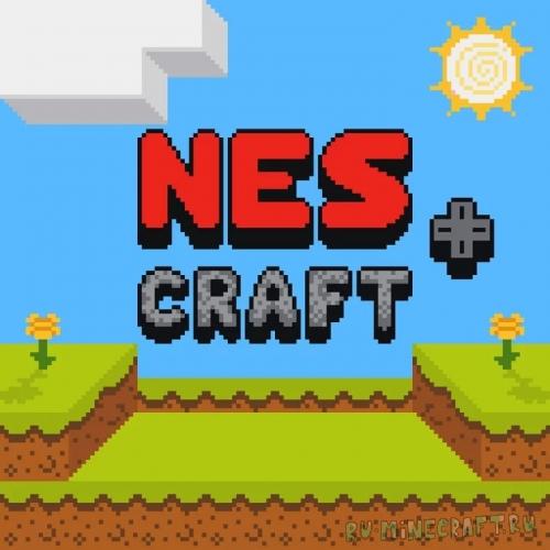 NES Craft+ - майнкрафт в стиле NES-игры [1.17] [1.16.4] [16x]