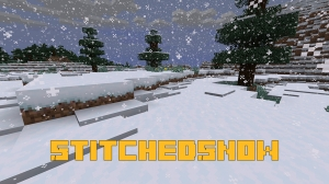 StitchedSnow - снег с сугробами [1.16.5]