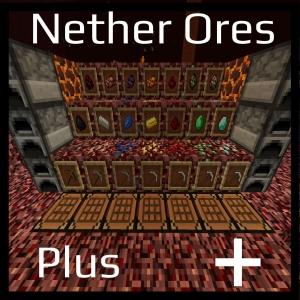 Nether Ores Plus+ - Руды в нижнем мире [1.16.5] [1.15.2] [1.12.2] [1.7.10] [1.5.2]