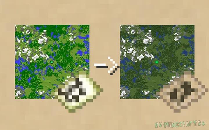 Better Maps - улучшенные карты [1.16.4] [1.15.2] [16x]