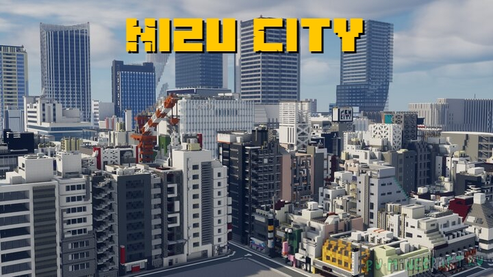 Japanese current city - Nizu City - японский город [1.17] [1.16.5] [1.12.2]