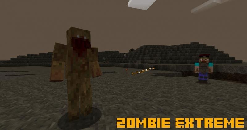 Zombie Extreme - зомби апокалипсис [1.16.5] [1.15.2] [1.14.4]