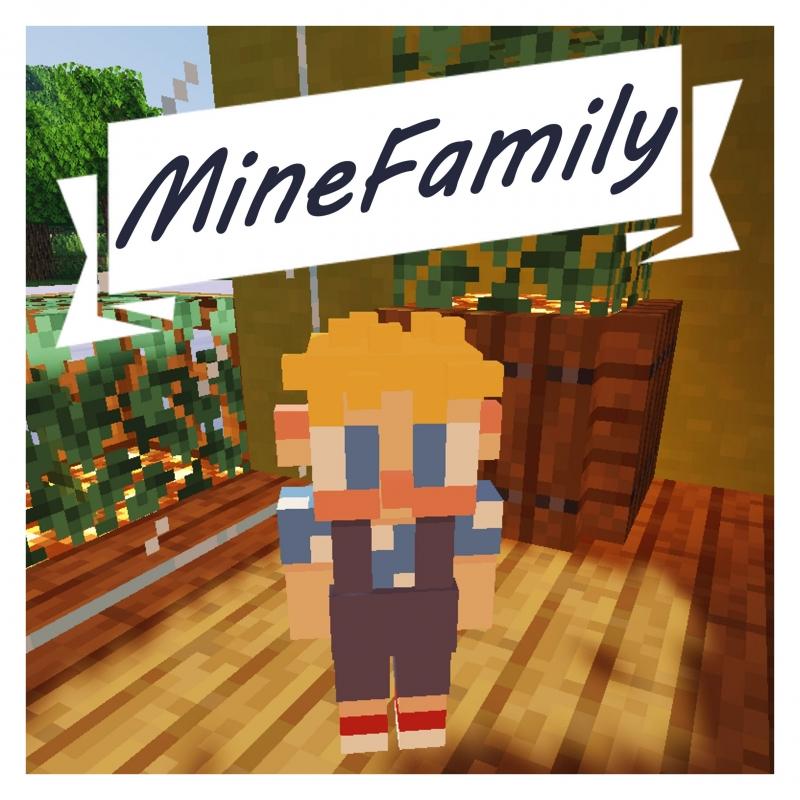 MineFamily - семья в майнкрафт, жена, дети [1.16.5] [1.15.2]