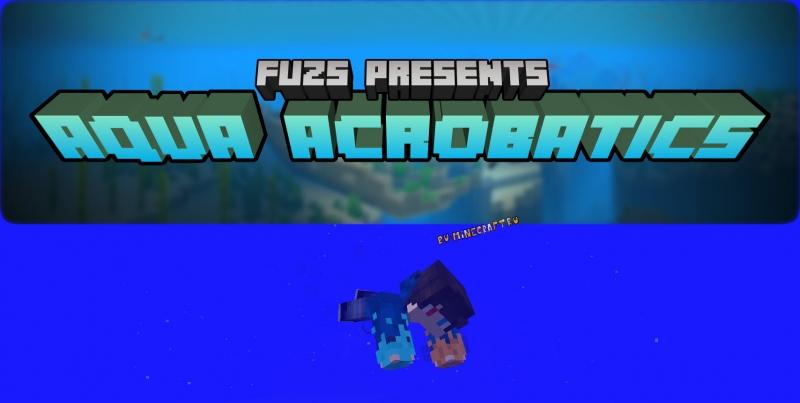 Aqua Acrobatics - реалистичная анимация плавания [1.12.2]