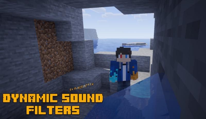 Dynamic Sound Filters - более реалистичные звуки [1.16.5] [1.15.2] [1.14.4]