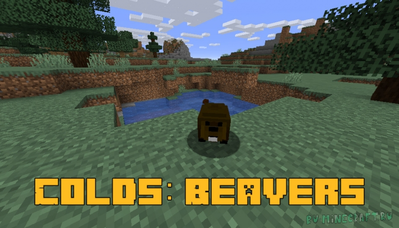 Colds: Beavers - бобры в майнкрафте [1.16.5]