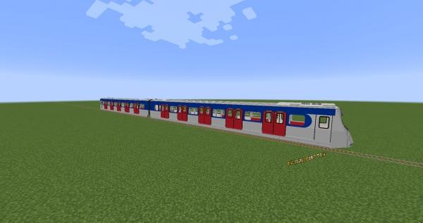 Minecraft Transit Railway - поезда, декор станций [1.17.1] [1.16.5] [1.12.2] [1.10.2] [1.8.9]