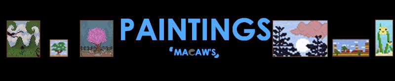 Macaw's Paintings - новые картины [1.16.5] [1.15.2] [1.14.4]