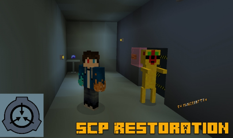 SCP Restoration - SCP объекты и камеры содержания [1.16.5]