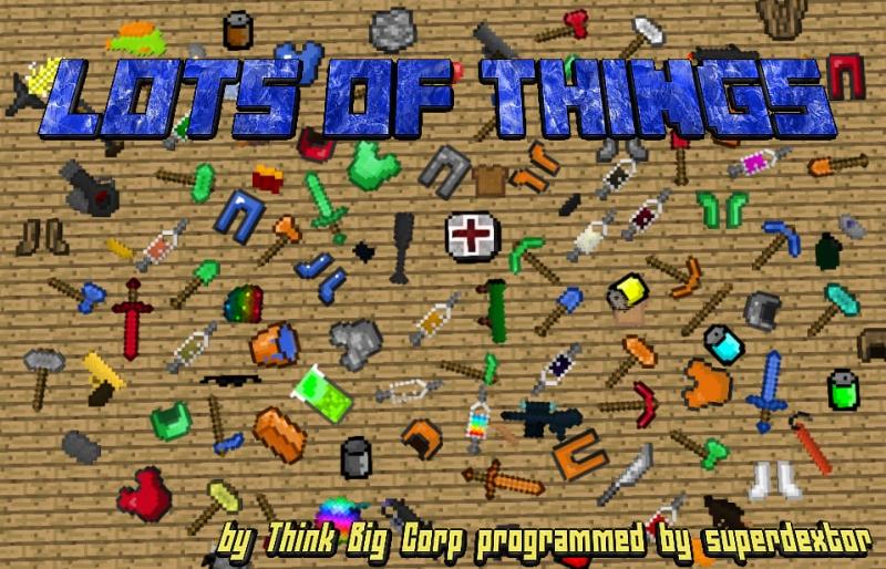 Lots of Things - новые вещи [1.12.2] [1.11.2] [1.10.2] [1.9.4] [1.8.9] [1.7.10]