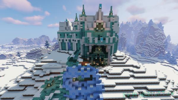 Карта - Замок Снежной Королевы [1.16.5]