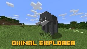 Animal Explorer - обычные реалистичные животные [1.16.5] [1.15.2]