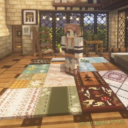 Nox's Better Carpets - новые ковры [1.16.4] [1.15.2] [32x]