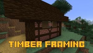 Timber Framing - блоки для средневекового декора [1.16.5]