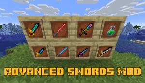 Advanced Swords Mod - необычные мечи [1.16.5] [1.16.4]