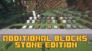 Additional Blocks: Stone Edition - декоративные блоки из камня [1.16.5]