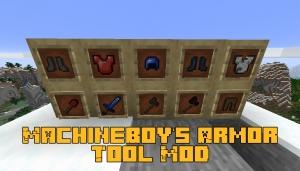 MachineBoy's Armor&Tool Mod - больше видов брони и оружия [1.16.5]