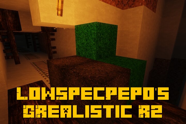 LowSpecPepo's GRealistic R2 - реалистичный ресурспак по фоткам из гугла [1.16.5] [1024x]