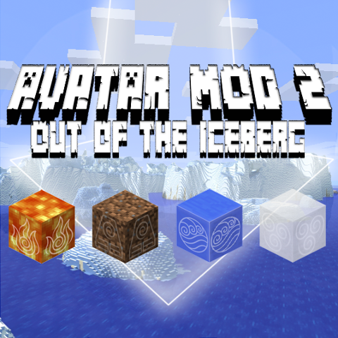 Avatar 2 Out Of The Iceberg - Стань Аватаром [1.12.2] [1.11.2]