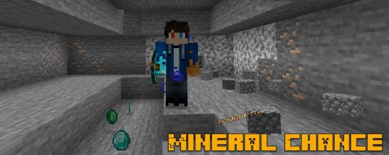 Mineral Chance - спрятанные ресурсы [1.17.1] [1.16.5] [1.15.2] [1.14.4] [1.12.2]
