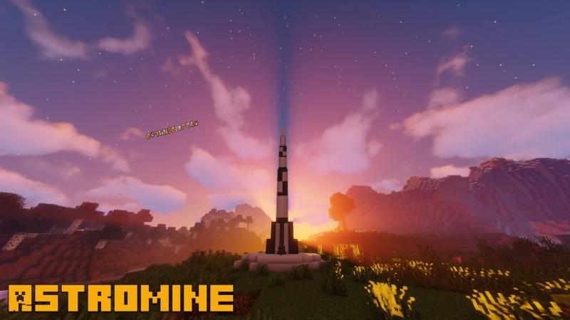 Astromine Mod: Complete - индустриальный космический мод [1.16.5]