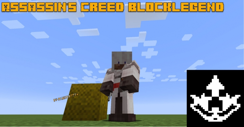 Assassin's Creed Blocklegend - мод на Ассасин Крид [1.16.5] [1.12.2]